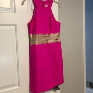 Lilly Pulitzer Fuchsia Shift Dress